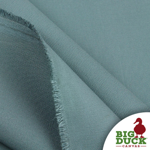 Cotton Duck Heavyweight 100% Ring-Spun Roll/Yards-Seagrass/Teal (Wholesale Factory Seconds, Popular Brand)