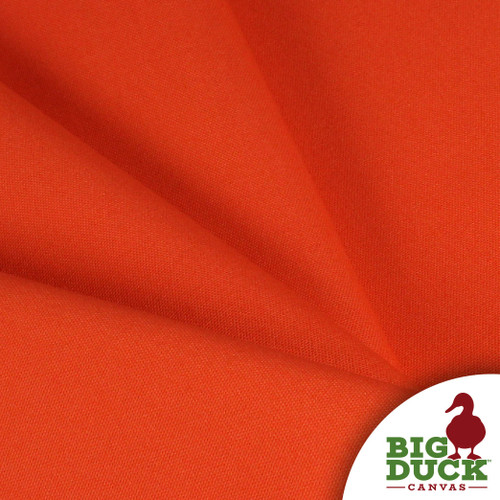 Cotton Duck Heavyweight 100% Ring-Spun Roll/Yards-Orange (Wholesale Factory Seconds, Popular Brand)