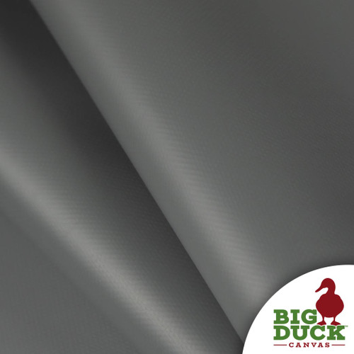 Vinyl Industrial Coated PVC Fire Retardant Waterproof Charcoal Gray