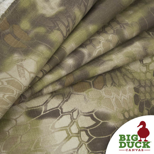 Camo Fabric Yard Wholesale Rolls Kryptek Highlander