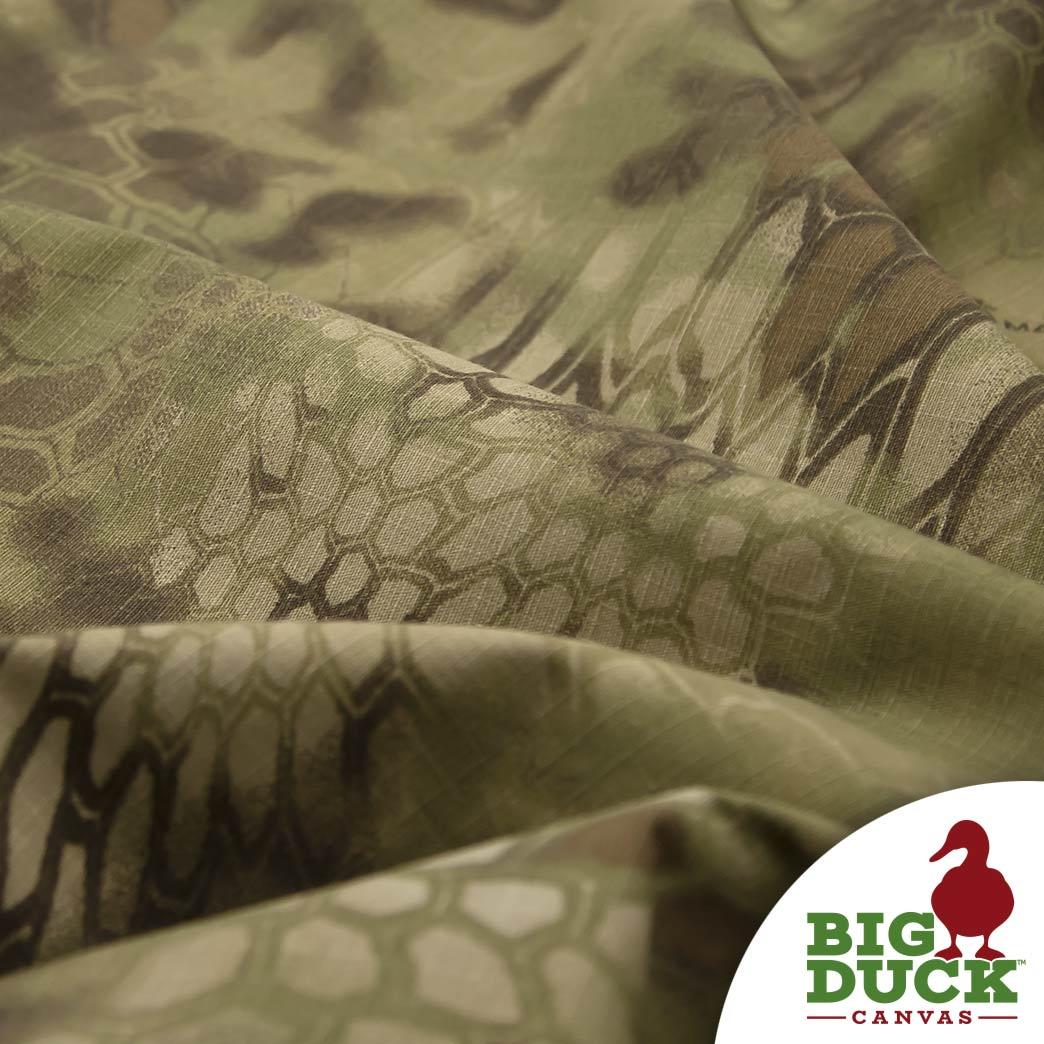 Camo Fabric Kryptek Mandrake 7 5oz 60 Big Duck Canvas Wholesale