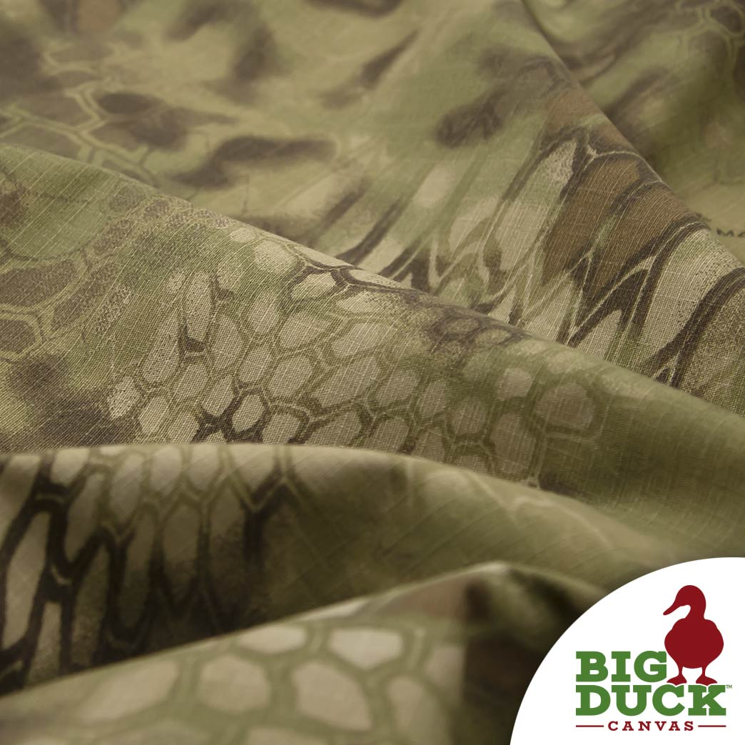 Camo Fabric Kryptek Mandrake 7 5oz 60 Big Duck Canvas Wholesale