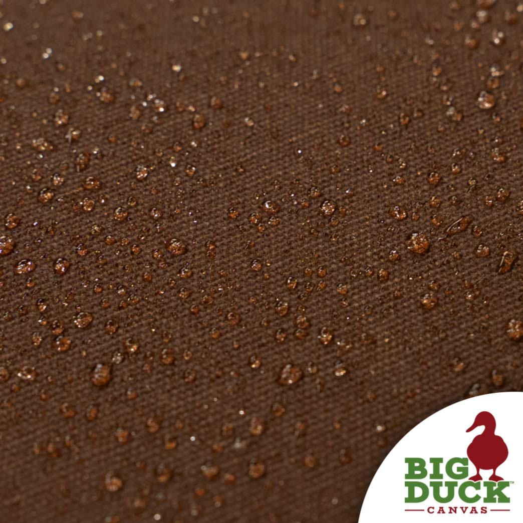 Waxed Canvas Fabric Pecan Brown Discount Yardswholesale Roll