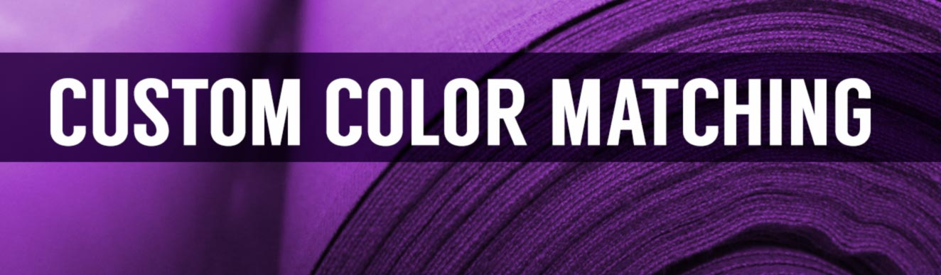 Custom Fabric Color Matching Dye Lots and Dye Sublimation Printing