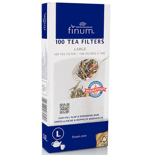 Finum Tea Filters Large 100ct.