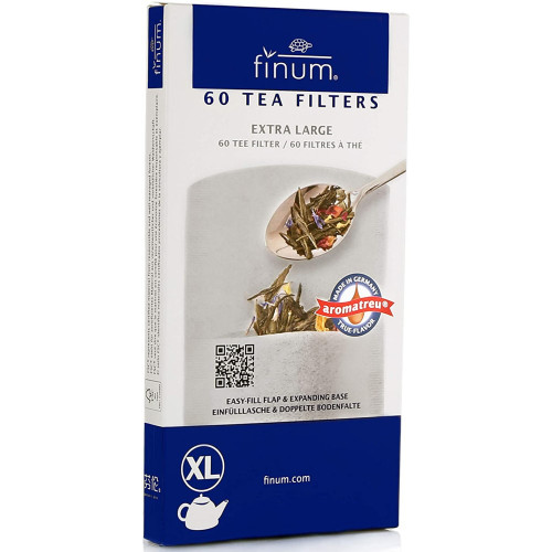 Finum Tea Filters Extra Large 60ct.