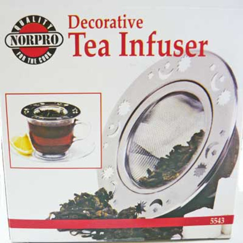 Decorative Tea Infuser Stainless Steel