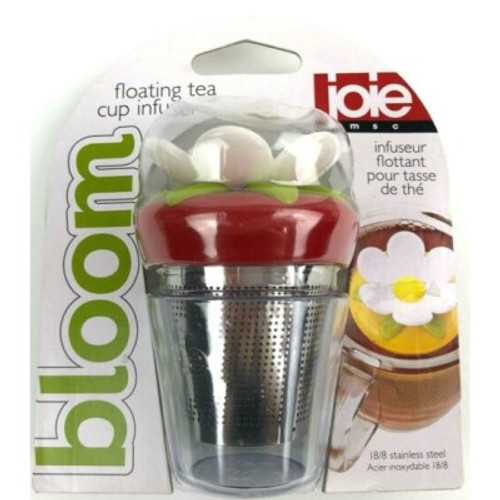 Joie Bloom Floating Tea Infuser-Red
