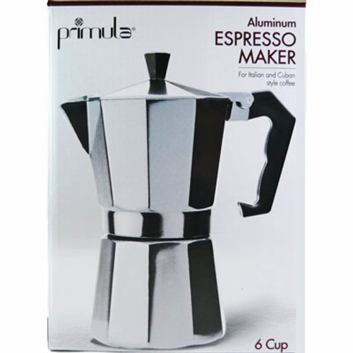 Stovetop Espresso Coffee Maker 6 Cup