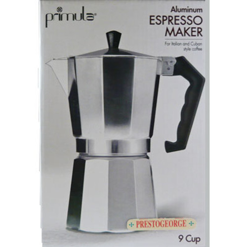 Stovetop Espresso Coffee Maker 9 Cup
