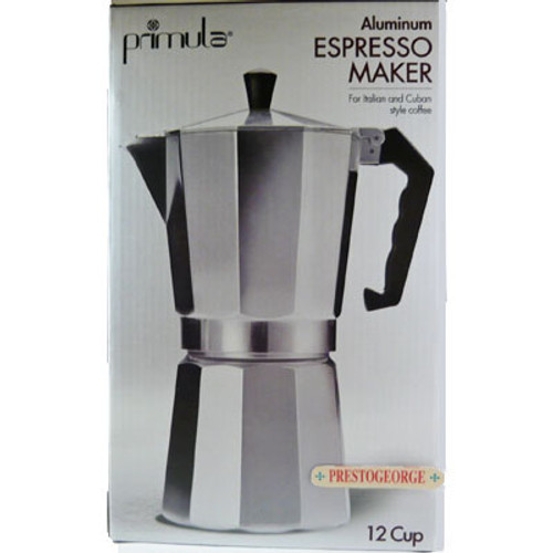Stovetop Espresso Coffee Maker 12 Cup