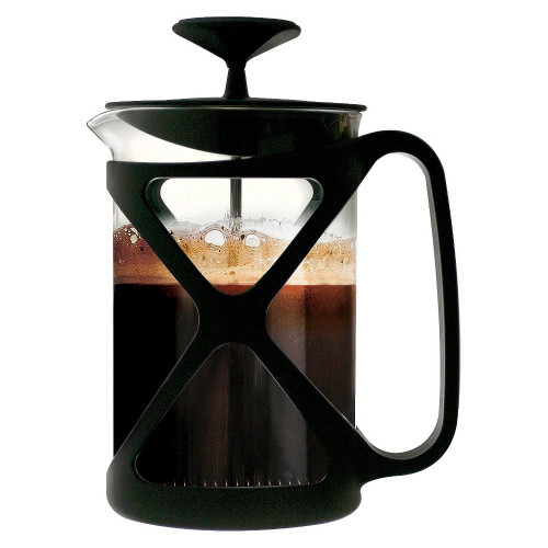 Tempo Coffee Press 6 Cup Black