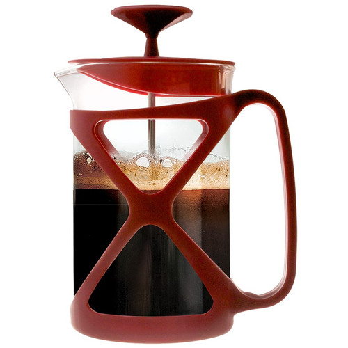 Tempo Coffee Press  6 Cup Red