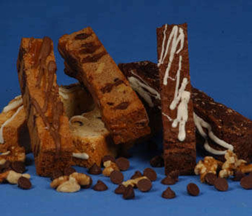 Caramel, Chocolate and Cinnamon Biscotti - 2 Per Package