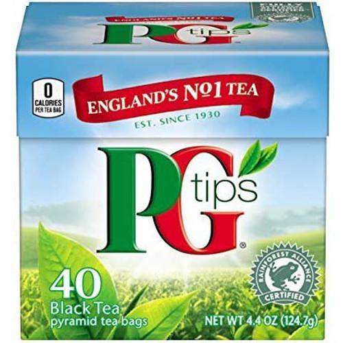 PG Tips Tea Bags 40ct.