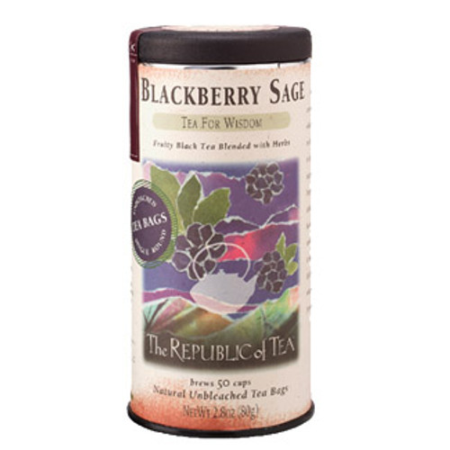 Republic Blackberry Sage Tea Bags 50ct.