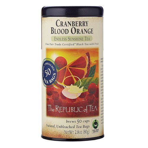 Republic Cranberry Blood Orange Black Tea Bags 50ct.