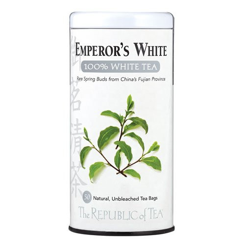 Republic Emperor's White Tea Bags 50ct.