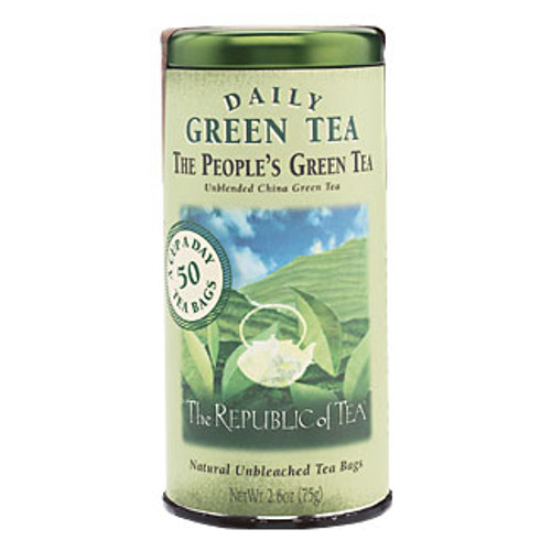 Republic The People's Green Tea Bags 50ct.