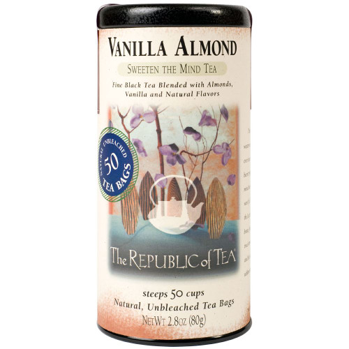 Republic Vanilla Almond Black Tea Bags 50ct.