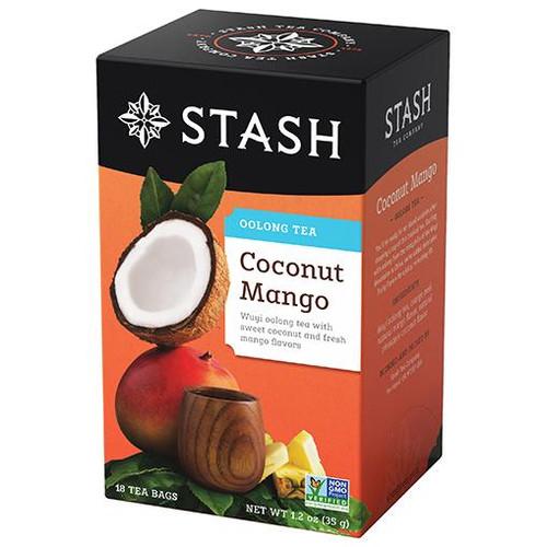 Stash Coconut Mango Oolong Tea Bags 18ct.