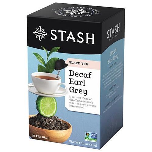 Stash Decaf Earl Grey Tea Bags 18ct.