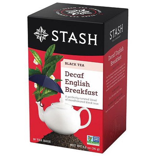 Stash Decaf English Breakfast Tea Bags 18ct.