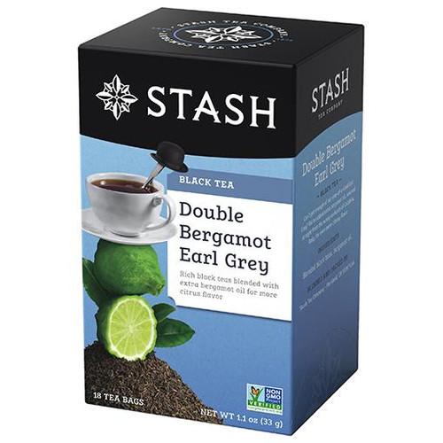 Stash Double Bergamot Earl Grey Black Tea Bags 18ct.