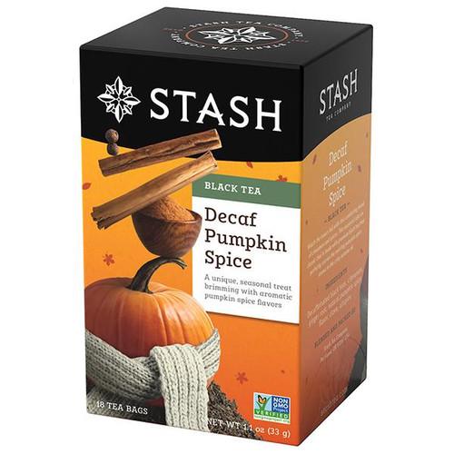 Stash Decaf Pumpkin Spice Black Tea Bags 18ct.
