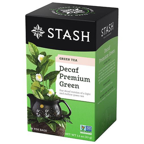Stash Decaf Premium Green Tea Bags 18ct.