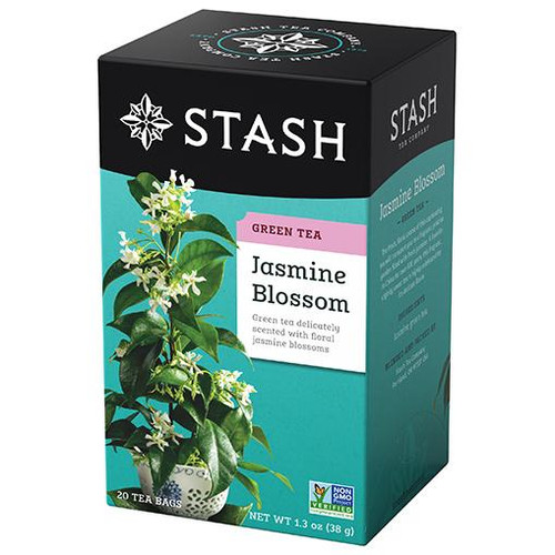Stash Jasmine Blossom Green Tea Bags 20ct.
