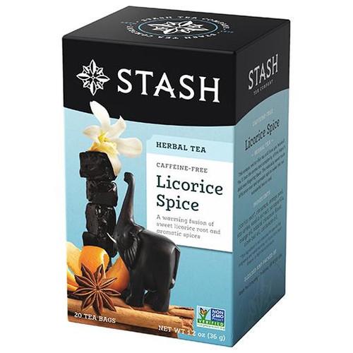 Stash Licorice Spice Herbal Tea Bags 20ct.