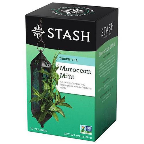Stash Moroccan Mint Green Tea Bags  20ct.