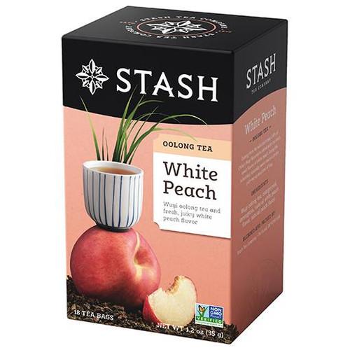 Stash White Peach Oolong Tea Bags 18ct.