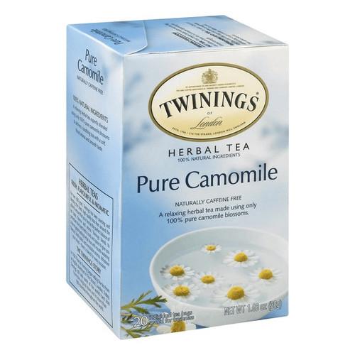 Twinings Pure Camomile Herbal Tea Bags 20ct.