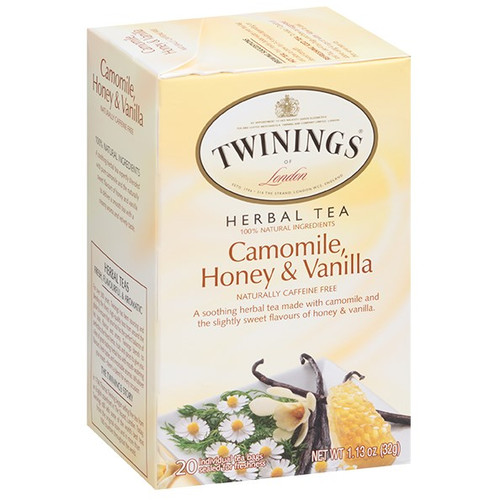 Twinings Camomile, Honey & Vanilla Herbal Tea Bags 20ct.