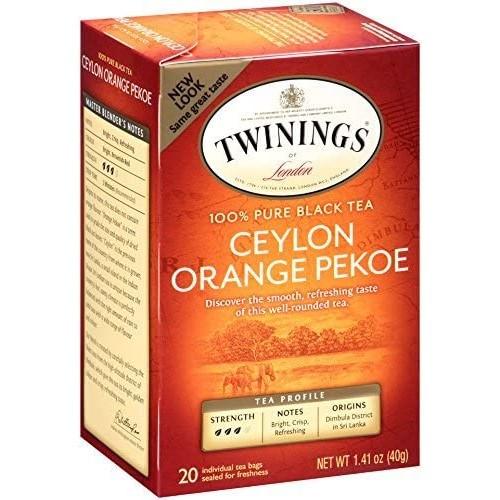 Twinings Ceylon Orange Pekoe Tea Bags 20ct.