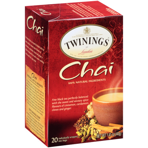 Twinings Chai Black Tea Bags 20ct.