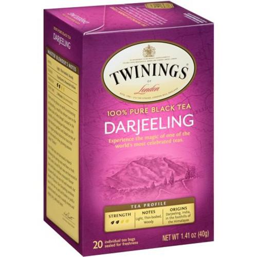 Twinings Darjeeling Tea Bags 20ct.