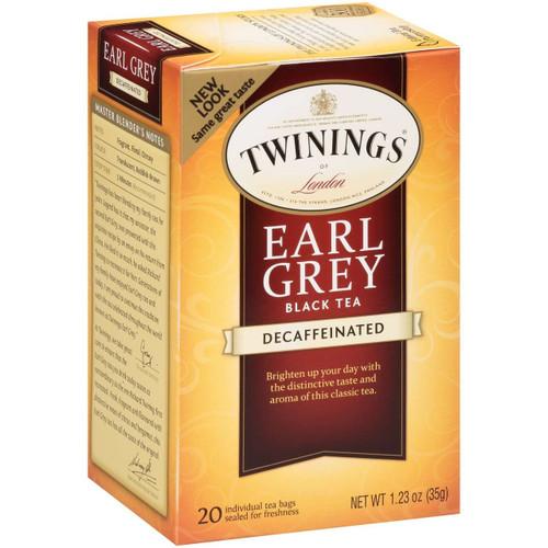Twinings Decaf Earl Grey Tea Bags 20ct.