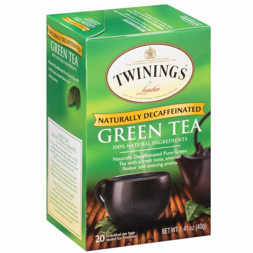 Twinings Decaf Green Tea Bags 20ct.