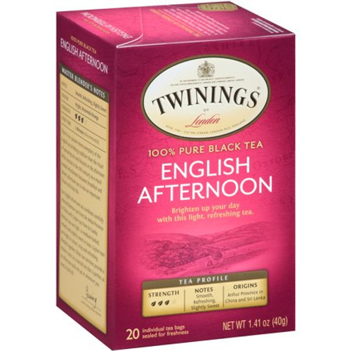 Twinings English Afternoon Tea Bags 20ct.