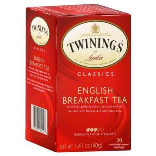 Twinings English Breakfast Tea Bags 20ct.