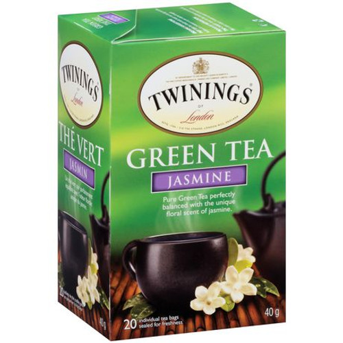 Twinings Jasmine Green Tea Bags 20ct.