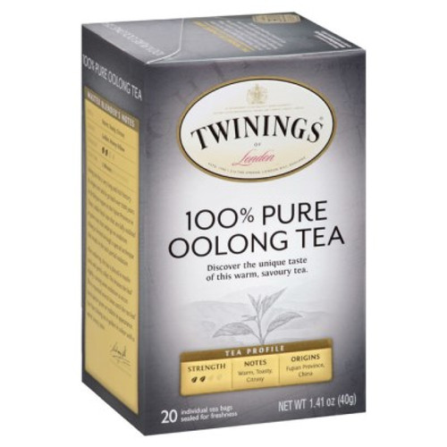 Twinings 100% Pure Oolong Tea Bags 20ct.