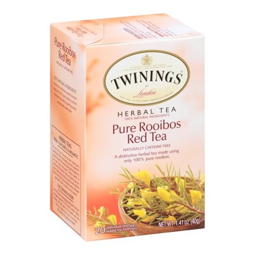 Twinings Pure Rooibos Red Tea Bags 20ct.