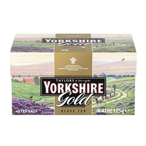Yorkshire Gold Tea Bags 40ct.