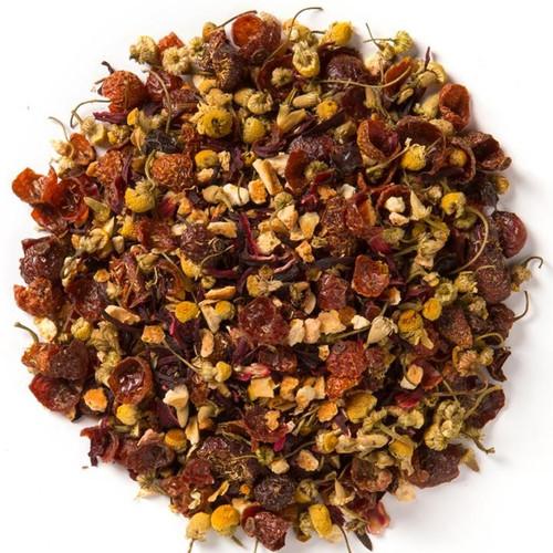 Organic Herbal Cranberry-Orange Chamomile Tea