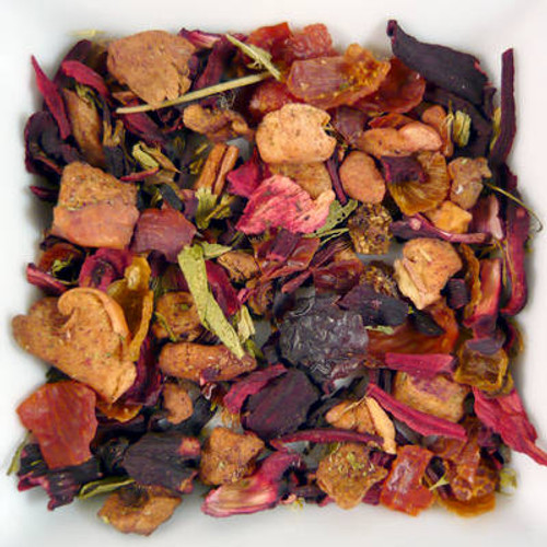 Hibiscus & Blueberry Superflower Herbal Tea