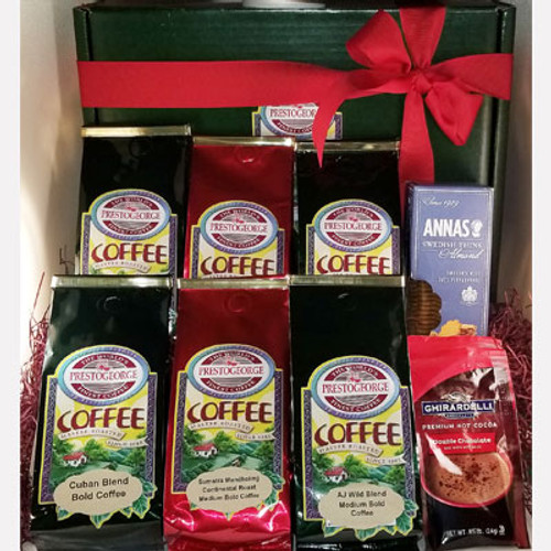 Dark Coffee Lovers' Gift Box - 6 Coffees